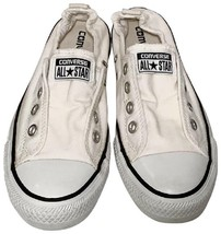 Converse Chuck Taylor All Star Low White Slip On Shoreline Sneakers Like New! - $39.99