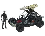 G.I. Joe Retaliation Ninja Commando 4x4 With Grapple Hook Launcher and Figure
