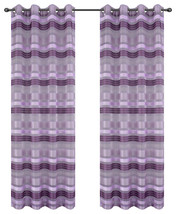Becca Drapery Curtain Panels with Grommets image 9