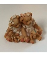 Allison and Alexandria Cherished Teddies - $12.00