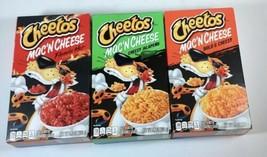 (3) Cheetos Mac 'N Cheese Flamin Hot, Cheesy Jalapeño and Bold & Cheesy ... - $18.69