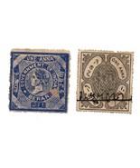 Two Stamps India Local Revenue / Berar & Unknown State - €16,77 EUR