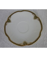 Theodore Haviland Limoges Gold and Green Rim Sa... - $4.99