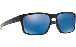 New Oakley OO9262-31 Sliver Sunglasses Matte Black / Ice Iridium Lens Fa... - $89.09