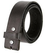 "BS040 Vintage Full Grain Leather Belt Strap 1.5"" wide (Black 34) - $19.95"