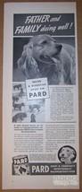 Pard Dog Food '40s PRINT AD Cocker Spaniel puppies vintage advertisement... - $24.18