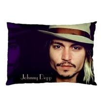 "Johnny Depp  Pillow Case 30""X20"" Full Size Pillowcase - $19.00"