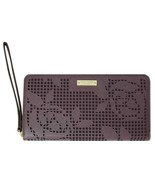 Kate Spade New York Zip Wristlet Wallet & Universal Phone Case Rose Maho... - $29.99