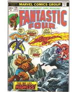 The Fantastic Four Comic Book #138 Marvel Comics 1973 FINE- - $11.18