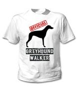 GREYHOUND - OFFICIAL WALKER - NEW COTTON WHITE TSHIRT - $19.59
