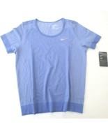 Nike Women Infinite Running Top Shirt - BV3913 - Sapphire 500 - Size XL ... - $49.99