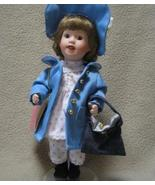 Paradise Galleries Collection Porcelain Doll w/ Stand - $7.00