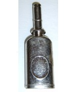 Small Vintage Silver Color Metal OIL CAN (for Sewing Machines?) - $12.99