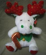 Softouch Toys Stuffed Christmas Holiday Reindeer NWT   - $5.00