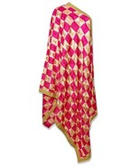 PinkPhulkari California Dupatta Online for Women's Fashion Long Shawl Bi... - $68.37