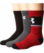 Under Armour-UA Next Crew Socks Kids Youth YMD 10.5-13.5 #389G - $13.85