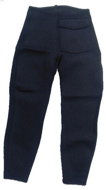 Women's 1.5mm Wetsuit Pants, Big Back Pocket/Zipper Security Pocket