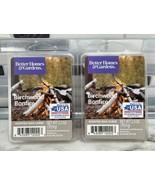2pc Better Homes & Gardens Scented Wax Melts BIRCHWOOD BONFIRE 2.5oz ea - $9.84