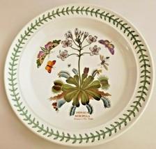 Portmeirion Botanic Garden Dinner Plate Venus's Fly Trap Made England  - $32.73
