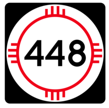 New Mexico State Road 448 Sticker R4186 Highway Sign Road Sign Decal - $1.45+