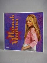 "DISNEY HANNAH MONTANA MILEY CYRUS NOTEBOOK 4"" x 6"" PHOTO ALBUM WITH PEN ... - $2.95"