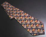 Tie guy laroche diffusion blue with gold flowers 01 thumb155 crop