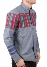 Staple Men's Indigo Stormking Woven Button Up Shirt 1510W2961 NWT image 3