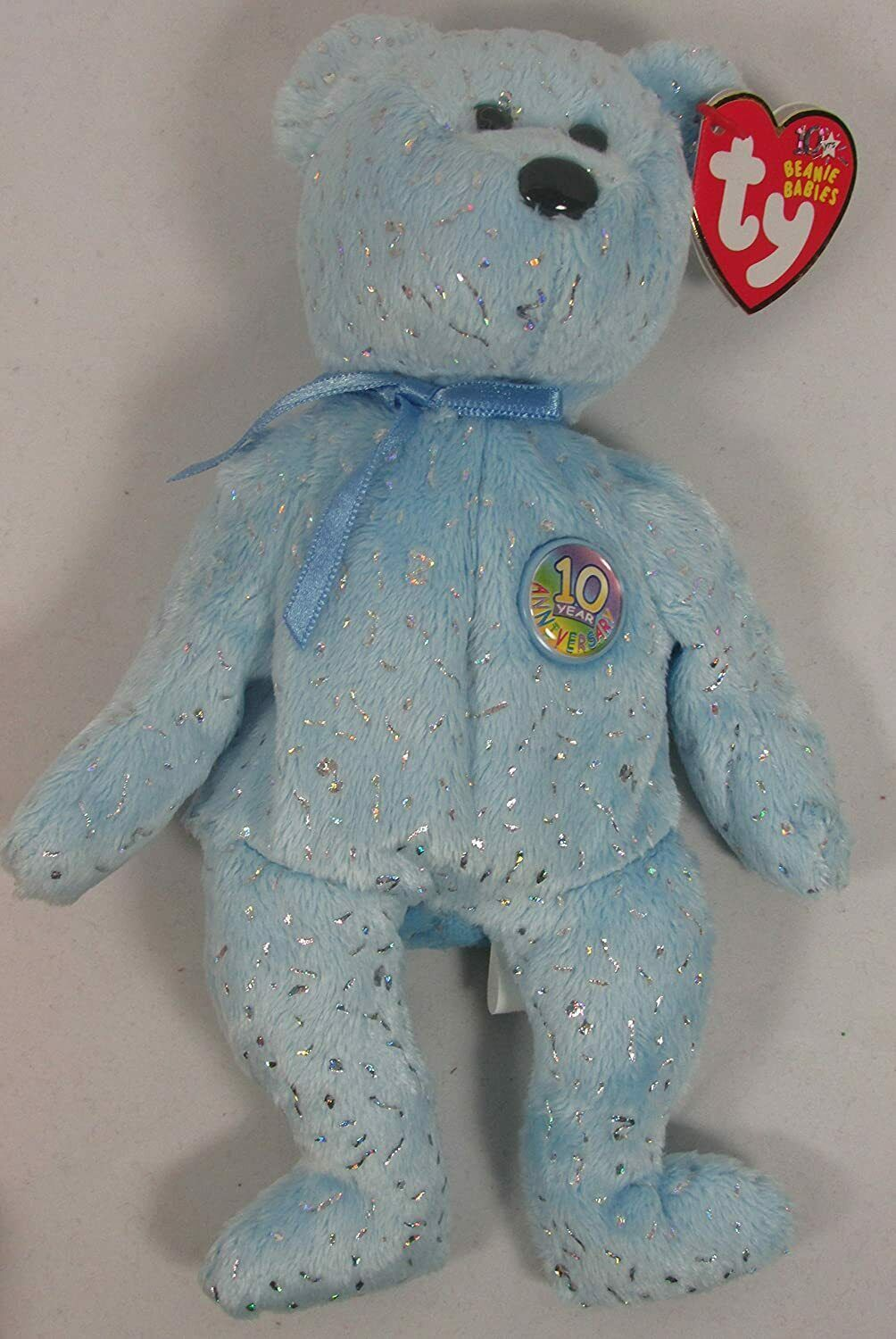 Primary image for Ty Beanie Baby Decade Light Blue Version NEW
