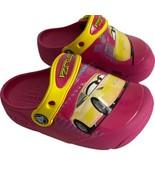 Crocs Kids Girls Size C 8 Fun Lab Light Up Cars Disney Clogs Water Shoes... - $18.29