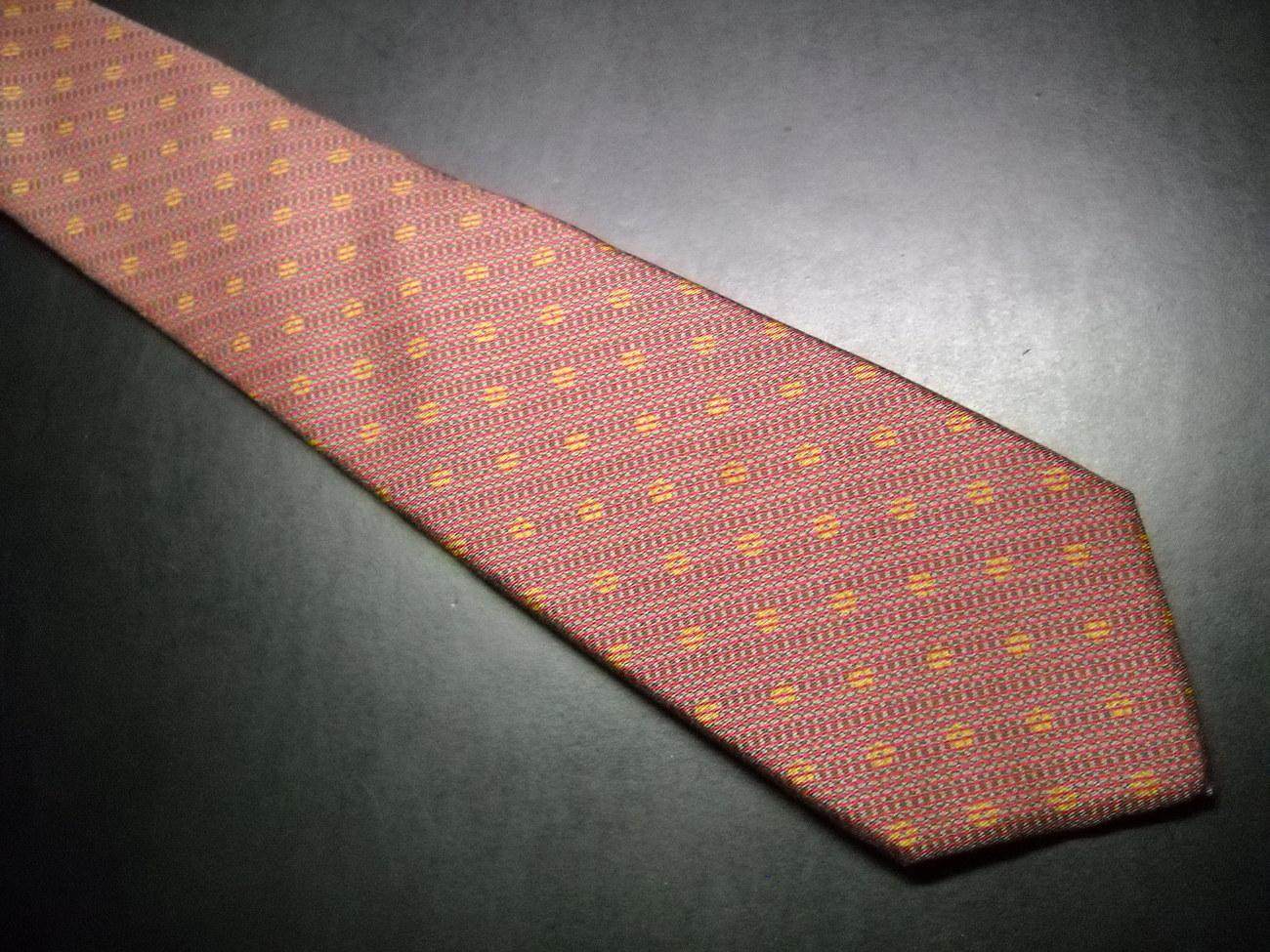 Tie guy laroche  higbee s narrow brown  02