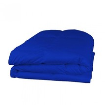 Egyptian Blue 800TC Down Alternative Comforter Egyptian Cotton Cover All... - £51.98 GBP+