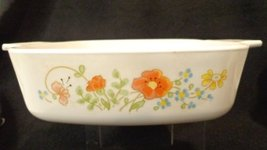Corning Ware Wild Flowers 1 liter casserole dish A-1-B Corning Ware Smal... - €18,19 EUR