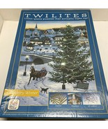 TWILITES 1000 PC. FRAMED LIGHT UP JIGSAW PUZZLE COUNTRY WINTER - $25.00