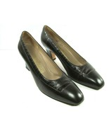 Salvatore Ferragamo Womens Brown Leather With Croc embosed Pumps Size US... - $67.62