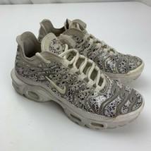 Nike Air Max Plus LX Phantom Women's Shoes Size 6 White AR0970-002 - $98.99