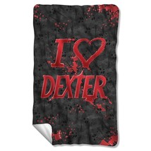 Blankets New Authentic I Love Dexter Fleece Blanket - $32.66