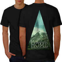 My Wild Nature Home Shirt Mountain Men T-shirt Back - $12.99+