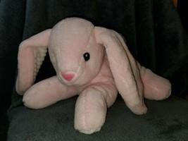 "Pink Bunny Rabbit Plush Toy 13"" Spark Create Imagine Crinkle Ears Animal... - $13.07"