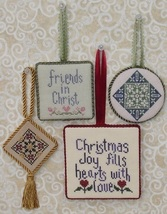 Christmas Pinkies II MBT044 cross stitch chart My Big Toe Designs - $8.00