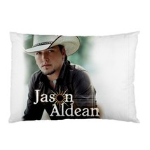 "NEW Jason Aldean Pillow Case 30""X20"" Full Size Pillowcase - $19.00"
