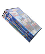 Thomas and Friends Lot of 3 DVD Engines Escapades Friends Help Out Trust... - $13.26