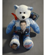 "ELVIS PRESLEY WINTER WONDERLAND 9"" PLUSH TEDDY BEAR ISSUE #019 NEW - $11.02"
