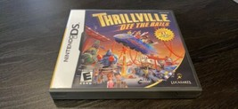 Thrillville: Off the Rails (Nintendo DS 2007) Complete With Manual - $14.99