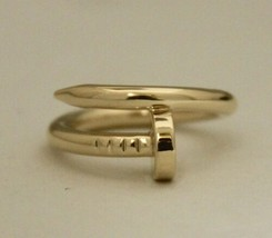 Cartier Juste Un Clou Bracelet 18K Yellow Gold Size 5.5 Box & Papers Ring - $1,900.00