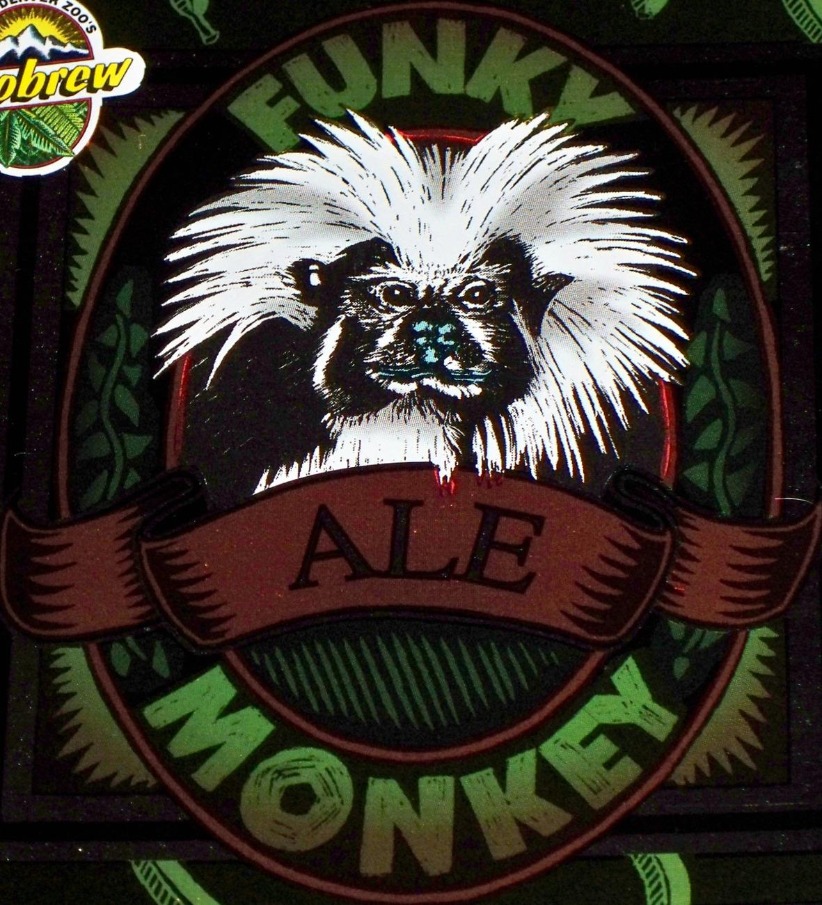 Funky monkey ale label 002