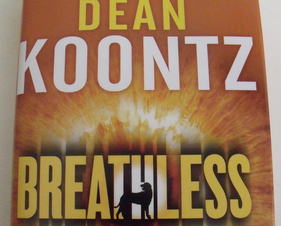 Book New Breathless by Dean Koontz Novel