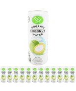 100% Organic Coco Joy Premium Coconut Water 11 Fl oz Can - 12 Pack - $26.72