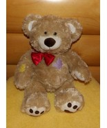 """Build-A-Bear 16"""" Plush Tan Teddy Bear with Patches & Corduroy Paw Pads - $7.89"""
