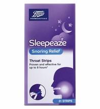 Boots Sleepeaze Snoring Throat Strips (21 Strips) - $14.33