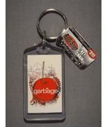 GARBAGE BEAUTIFUL CHERRY LOGO LUCITE KEYCHAIN - $1.95